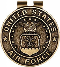 US Air Force Money Clip Military Money Clips for Men - Unisex Gifts for Veterans