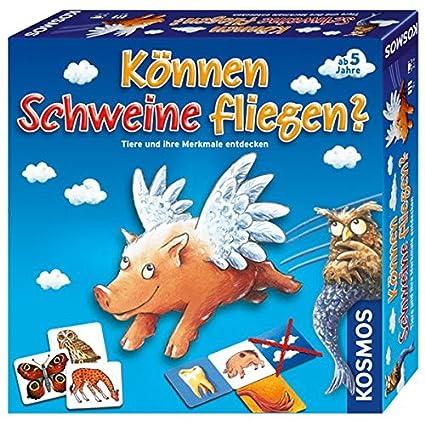 """Kosmos - 680237 - Jeu de société """"Können Schweine fliegen?"""" -  Langue : allemande"""