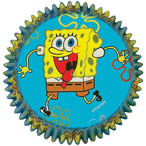 Wilton SpongeBob Squarepants Baking Cups - 1