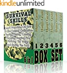 Survival Skills BOX SET 6 IN 1: Learn...