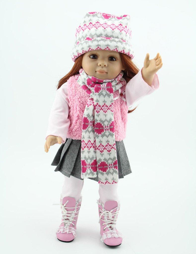 NPK Collection Das Kinderspielzeug ist aus Kunststoff und 18 Zoll 45 cm gro?. Es ist ein hochwertiges Geschenk f¨¹r sch?ne als Weihnachtsgeschenke. online kaufen