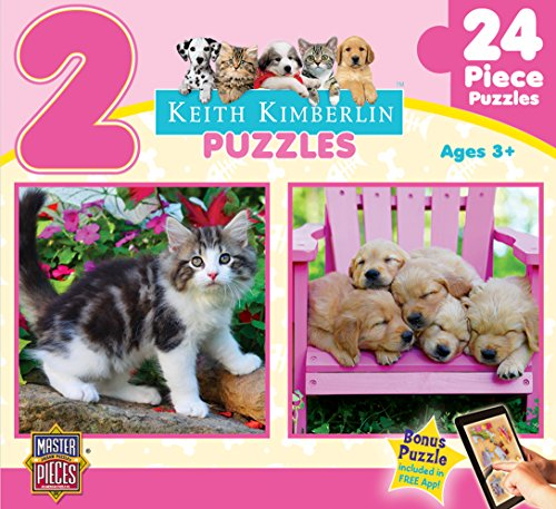 Masterpieces Fluffy Furballs Puzzle (2-Pack) - 1