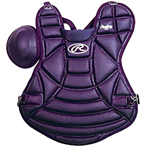 Rawlings Adult Textured Chest Protector, Purple