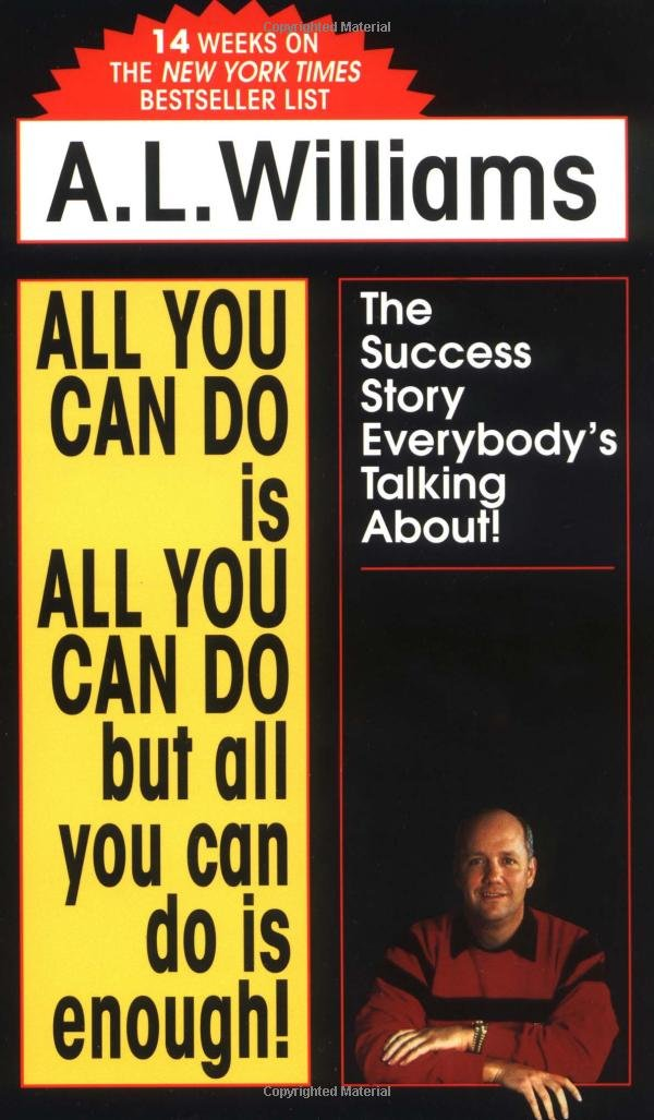 All You Can Do Is All You Can Do But All You Can Do Is Enough ...