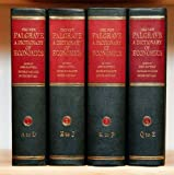The New Palgrave: A Dictionary of Economics: Four Volume Boxed Set