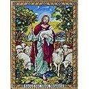 "Bucilla The Good Shepherd Counted Cross Stitch Kit-12""X16"" 28 Count"