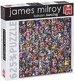 Jumbo James Milroy Ballroom Dancing Jigsaw Puzzle (625 Pieces)
