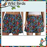 61TL%2B17tUWL. SL160  WILD BIRDS Child Boxers Size 14 16 Birdwatcher Cotton Boxer or Sleep Pants Shorts for BOYS or GIRLS Great as Pajamas for Kids and Children