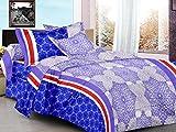 Monte Carlo- Gracious blue Bed Sheet