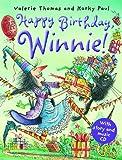 Valerie Thomas Happy Birthday Winnie! (paperback and CD)