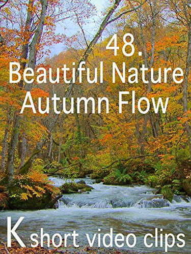 Clip: 48.Beautiful Nature--Autumn Flow