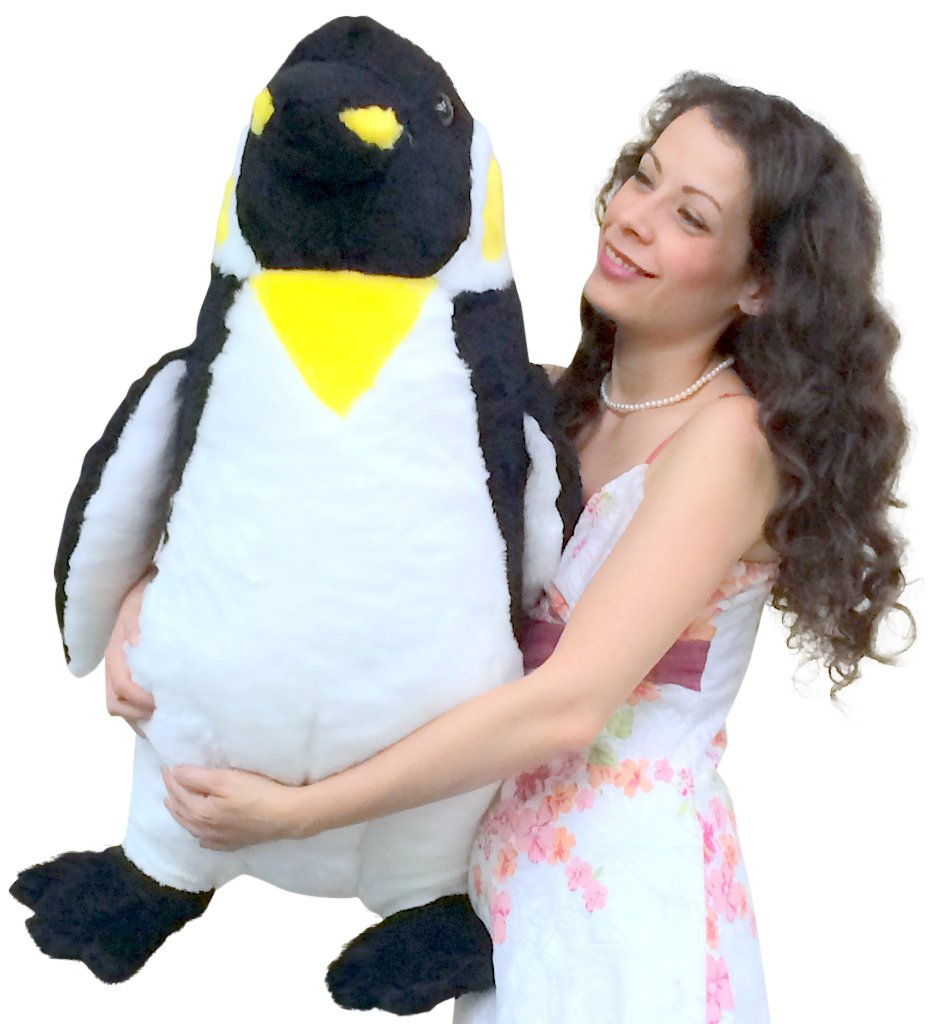 American Made Soft Giant Stuffed Penguin