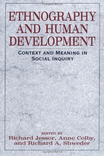 Ethnography and Human Development: Context and Meaning in...