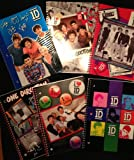 1D One Direction Wide-Ruled Spiral Notebook (70 pages) (cover photos vary)