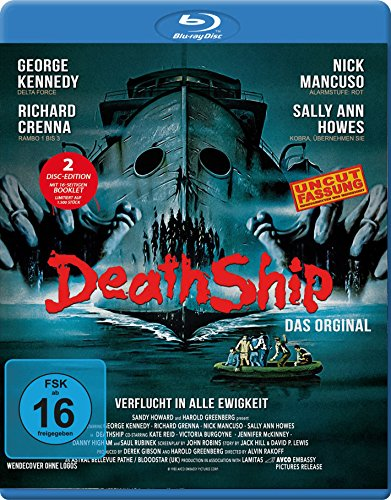 Death Ship - Uncut-Fassung (2er Disc-Edition Blu-Ray/DVD) limitierte Auflage!! [Limited Special Edition]