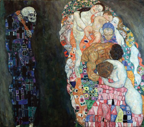 Klimt Death and Life Wooden Jigsaw Puzzle