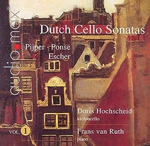 Dutch Cello Sonatas Vol. 1