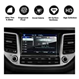 RUIYA 2017 Hyundai Tucson 8-Inches Car Navigation Protective Film,Clear Tempered Glass HD and Protect your Eyes