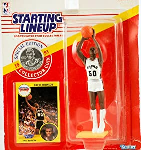 1991 - Kenner - Starting Lineup - Special Edition - David Robinson #50 - San Antonio... by Starting Line Up