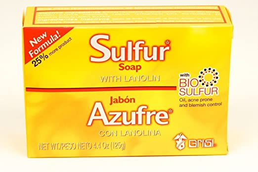 Grisi Sulfur Soap with Lanolin for Acne Reviews