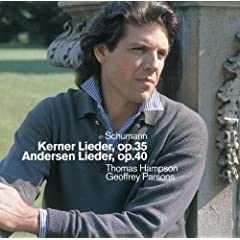 Schumann : Kerner Lieder, Andersen Lieder & Early Songs
