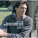 Schumann : Kerner Lieder, Andersen Lieder & Early Songs