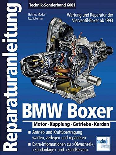 BMW-Boxer-Motor-Kupplung-Getriebe-Kardan-ab-1993-Reparaturanleitungen
