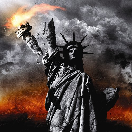 Original album cover of IV: Constitution of Treason by God Forbid