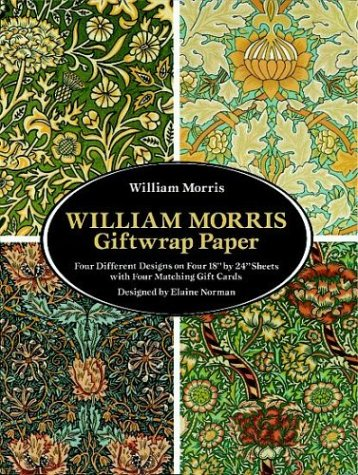 William Morris Giftwrap Paper (Dover Giftwrap)