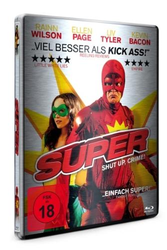 Super - Shut Up, Crime! - Steelbook [Blu-ray]