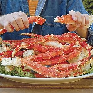 Amazon Com 2 Lbs Of Alaskan King Crab Legs Grocery