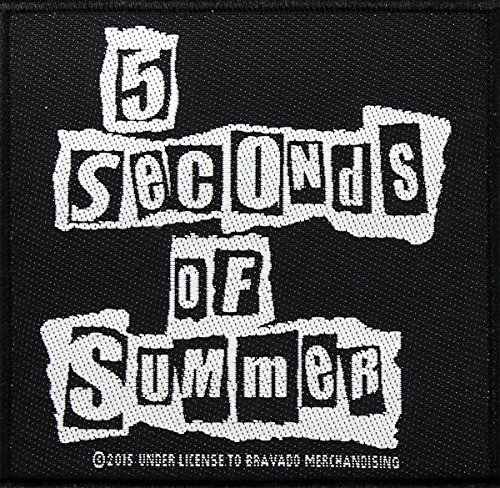 5-seconds-of-summer-logo-ripped-logo-patch-tessuto-10-x-10-cm