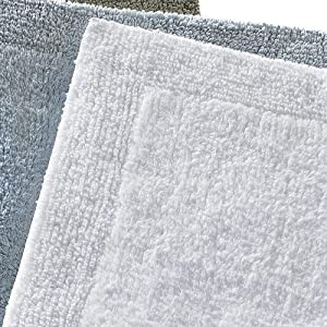 Amazon Com Regence Home Reversible Cotton Bath Rug 17
