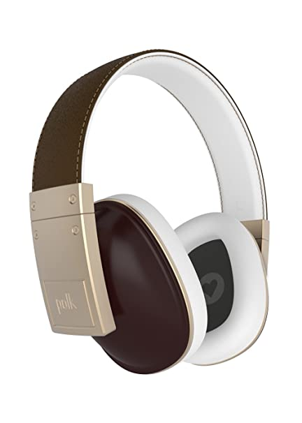 Polk Audio The Buckle Over Ear Headphones - Brown