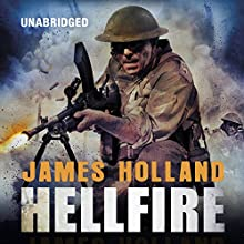 Hellfire (       UNABRIDGED) by James Holland Narrated by Saul Reichlin