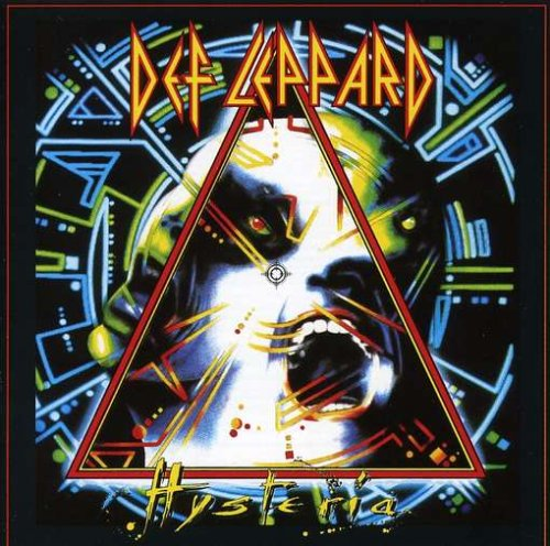 Original album cover of Hysteria by Def Leppard