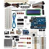 SunFounder New Uno R3 Project Super Starter Kit For Arduino UNO R3 Mega2560 Mega328 Nano