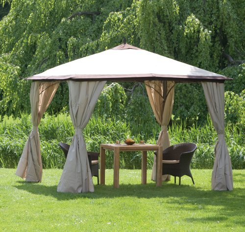 pavillon metall. Black Bedroom Furniture Sets. Home Design Ideas