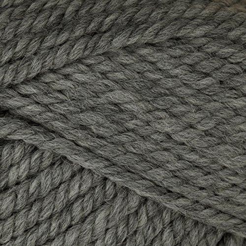Patons Classic Wool Bulky Yarn (9044) Medium Grey Heather