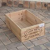 ワインの木箱[ワインラック 装飾や鉢カバーに]