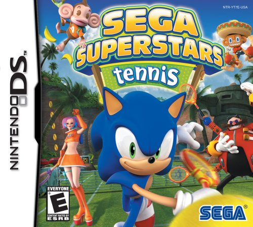 Sega Superstars Tennis - Nintendo DS