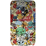 Cartoon Pattern Hard Polycarbonate Designer Back Case Cover For Samsung Galaxy S3 Mini I8190 :: Samsung I8190 Galaxy S III Mini :: Samsung I8190N Galaxy S III Mini