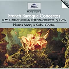 Joseph Bodin de Boismortier: Concerto in D major, Op.26, No.6 - 1. Allegro