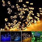 INST Solar Powered LED String Light,...
