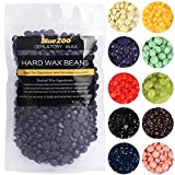 Depilatory Hard Wax Beans for Male Female Hand Leg Bikini Painless Hair Removal for All Kinds of Skin Types (300g/Bag) (Color: Chocolate, Tamaño: 300g)