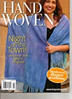 Handwoven Magazine, September/October 2013…