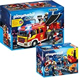 PLAYMOBIL® City Action Fire Brigade 2-part Set 5363 5365 Fire Engine + Firefighters with fire pump