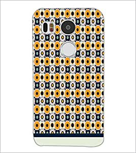 PrintDhaba Pattern D-1988 Back Case Cover for LG NEXUS 5X (Multi-Coloured)