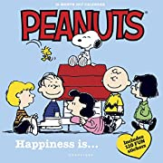 Graphique 2017 Peanuts Happiness Is Wall Calendar