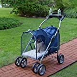 Fifth Avenue SUV Pet Stroller, Blue